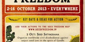 2013 – Fortnight of Action for Seed and Food Freedom