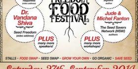 Seed Freedom Food Festival