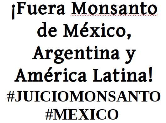 Juicio Público contra Monsanto México