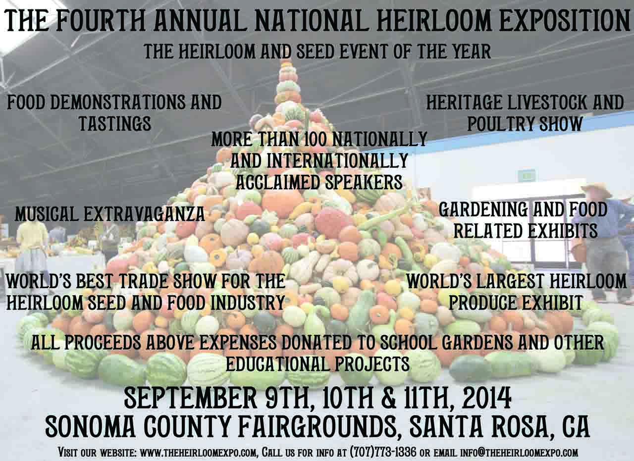 The Fourth Annual National Heirloom Exposition
