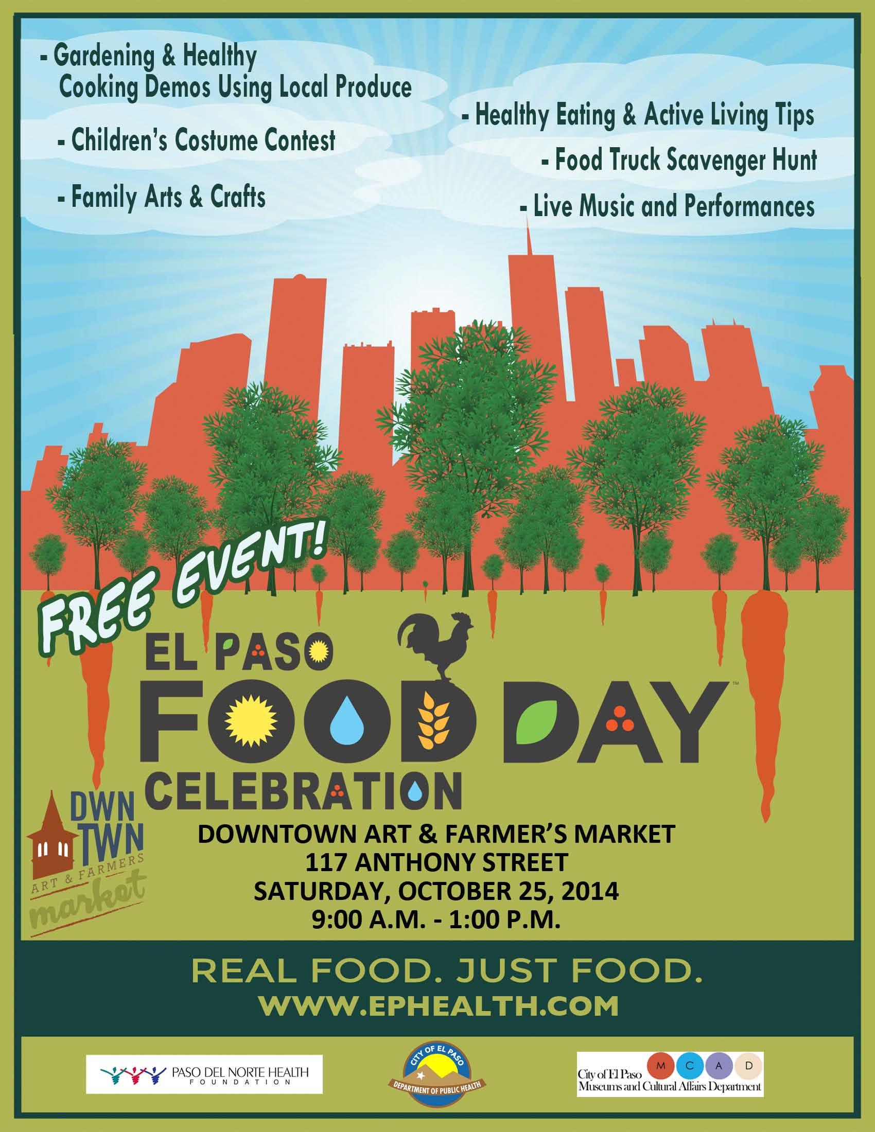 El Paso Food Day Celebration