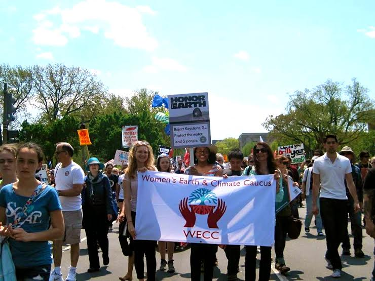WECAN at the People's Climate March & Climate Week 2014: Events and Wall of Women Action!