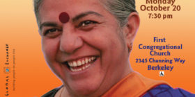 Speaking Event: Vandana Shiva – The Rights of Mother Earth