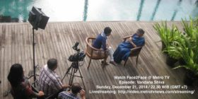 TV Special with Dr. Vandana Shiva in Indonesia