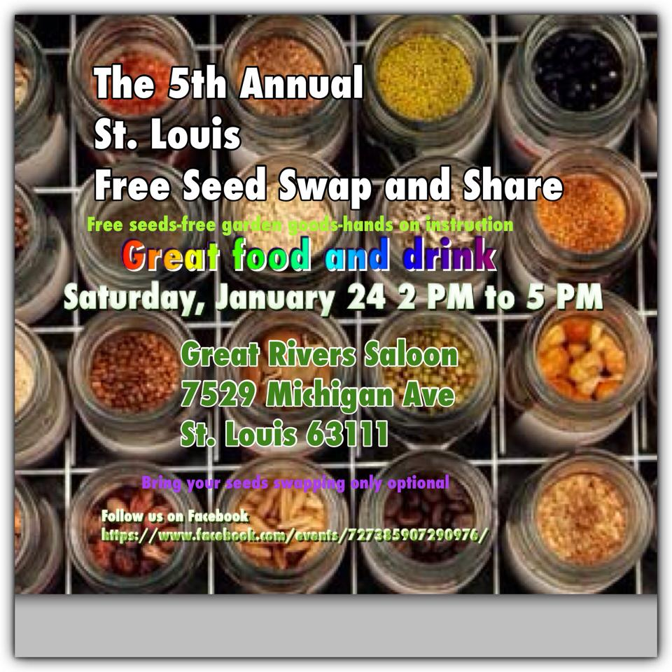 The 5th annual St.Louis organic seed swap