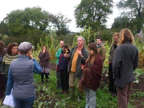 The launch of the South West Seed Savers Coop at Embercombe Farm. Photo: SWSSC.