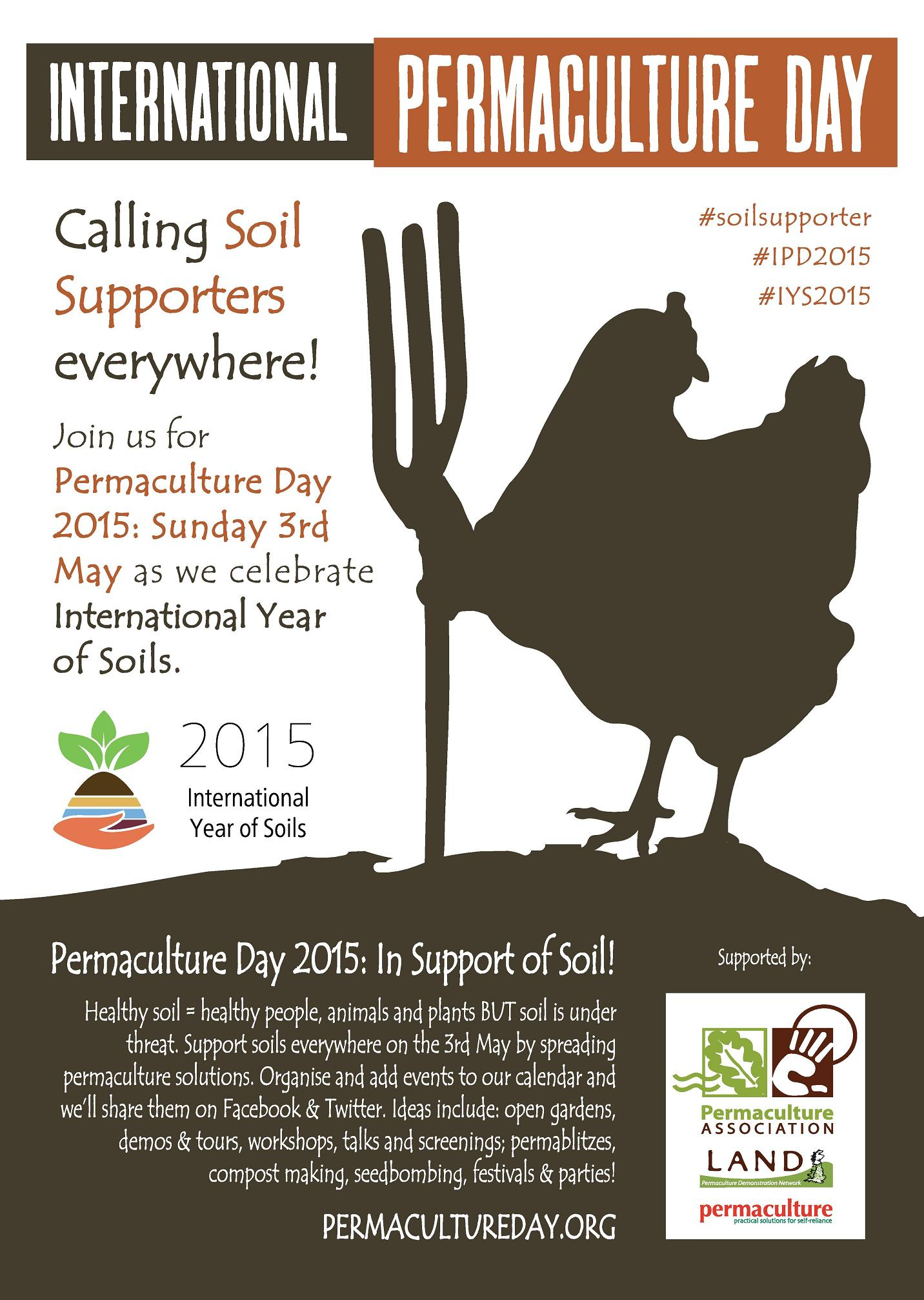 International Permaculture Day - Worldwide
