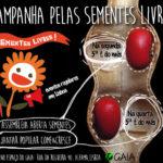 campanha sementes livres eventos regulares Lx