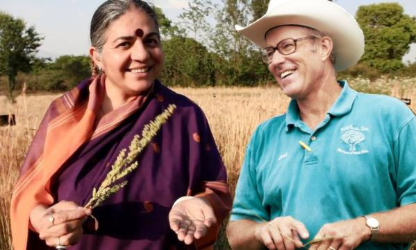 "Dr Vandana Shiva: ""Planet On Plate - Eating and Farming for Our Future"" - Introduction by Joel Salatin"