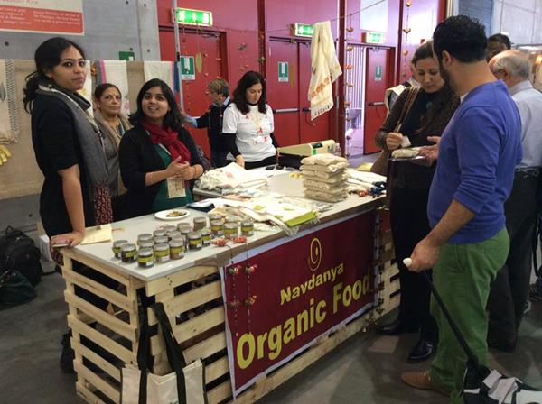 Navdanya and Fibres of Freedom at Terra Madre