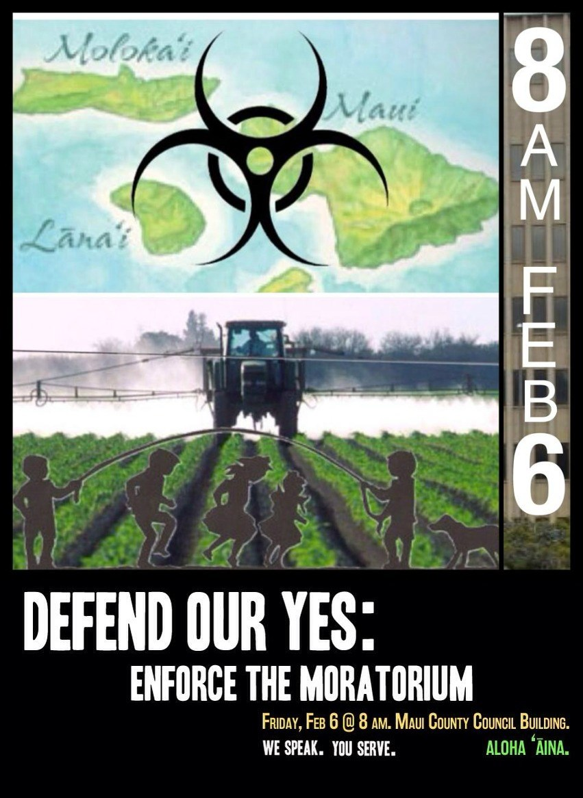 Defend the Maui Gmo Moratorium