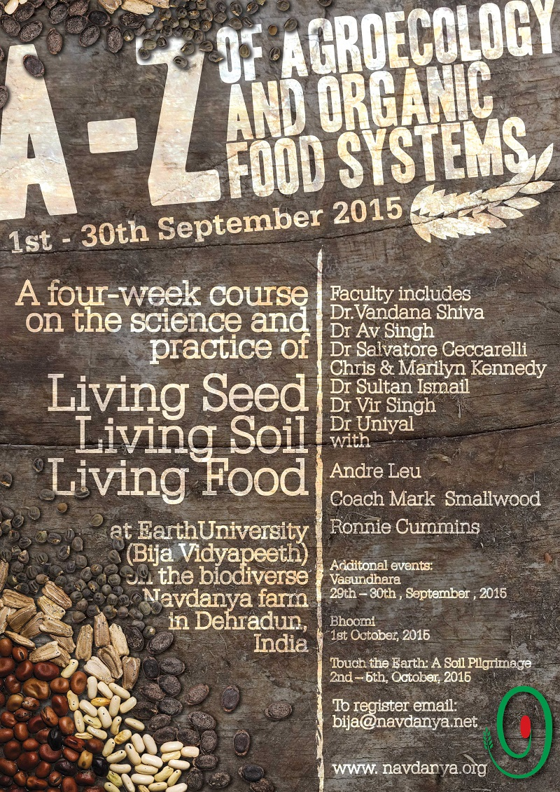 A-Z of Agroecology and Organic Food Systems