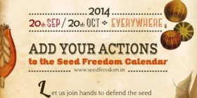 Call to Action for Seed, Food and Earth Democracy 2014 – Overview