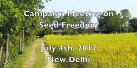 Campaign Meeting for Seed Freedom