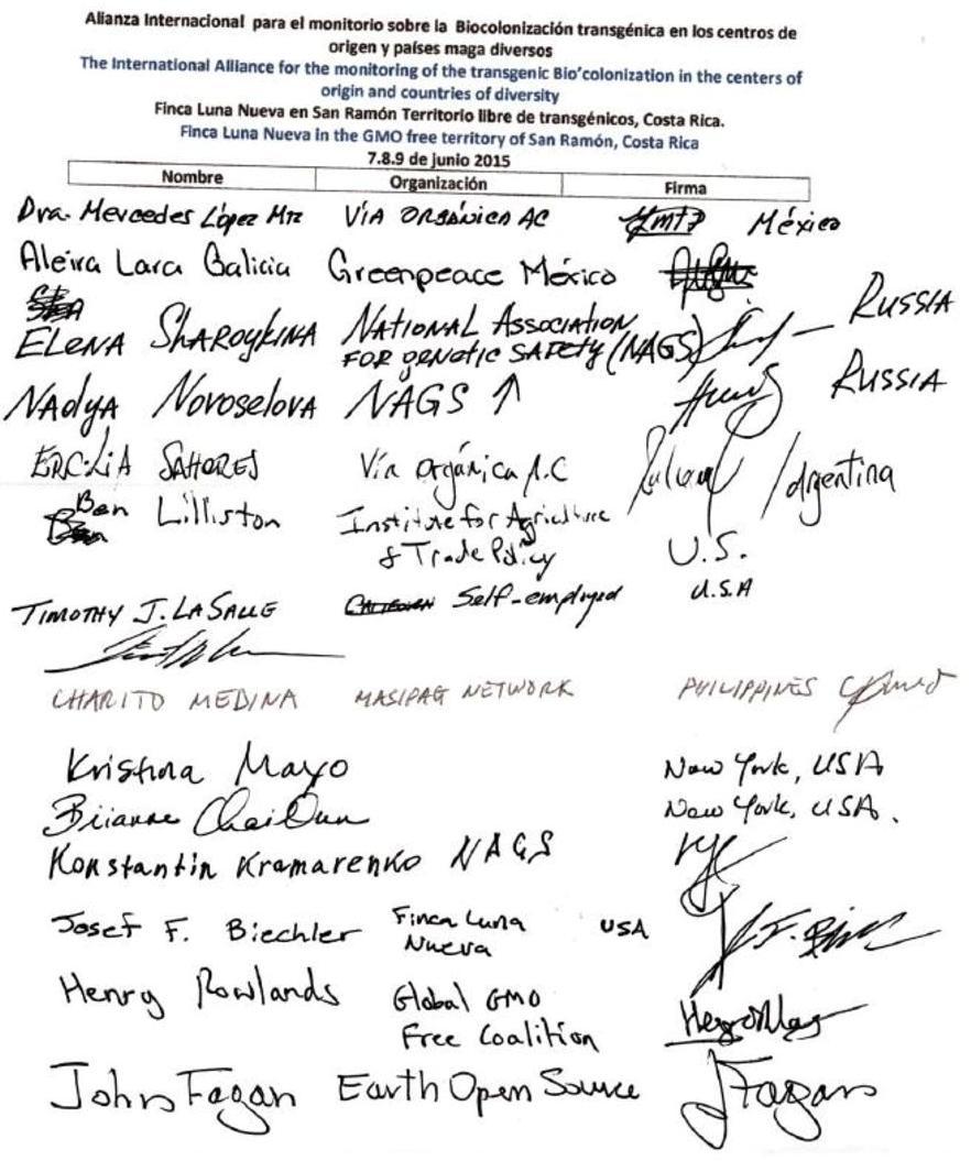 Costa Rica Press Release 2