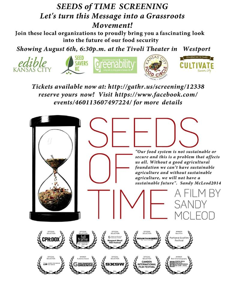 Seeds of Time Documentary Screening