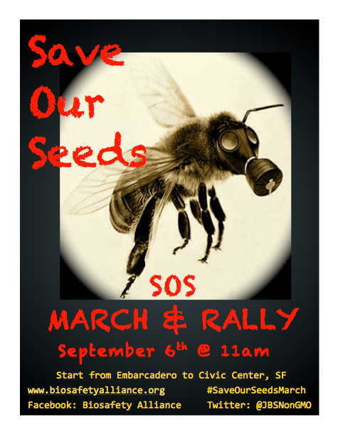 SOS Save Our Seeds March & Rally