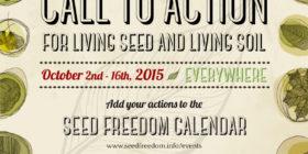 Chiamata all'azione per Semi viventi e Suolo vivente – 2015