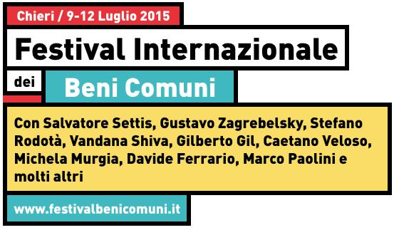 Festival Internazionale dei Beni Comuni