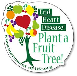 End Heart Disease – Plant a Fruit Tree campaign
