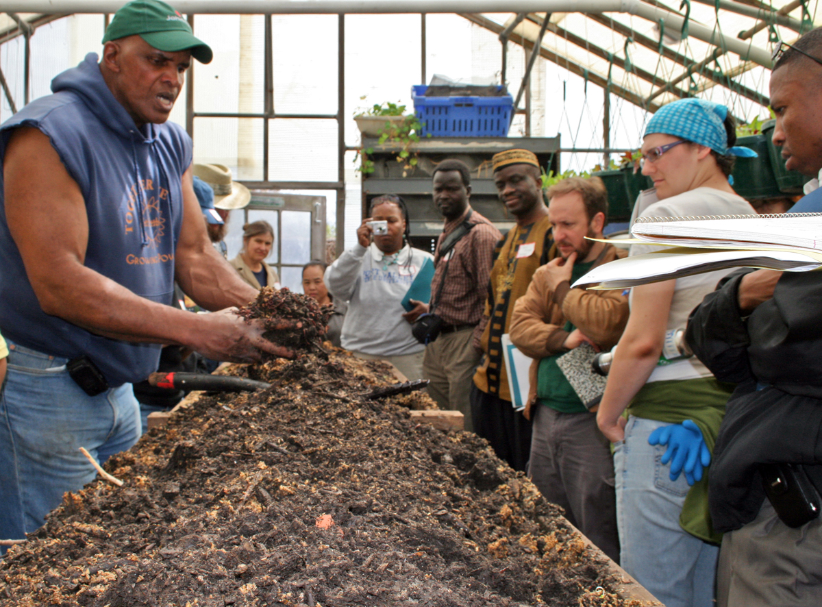 Will Allen, Compost Crusader: Soil Health is a Human Rights Issue