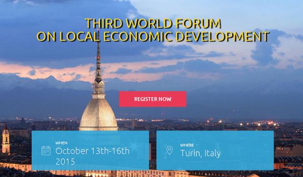 3rd World Forum of Local Economic Development (LED)