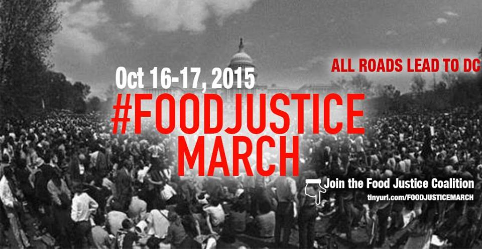 #FoodJustice March