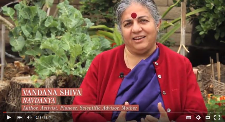 [VIDEO] Seed Saving at Home with Vandana Shiva