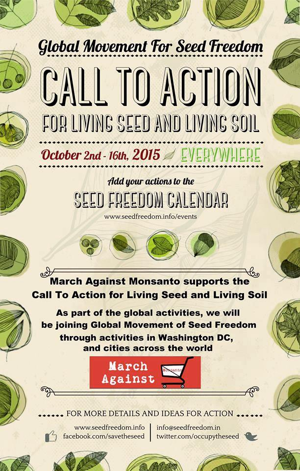 Events Coordinated by MAM (March Against Monsanto)