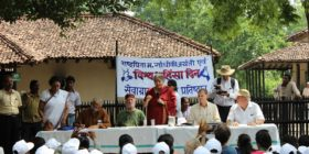 """Touch the Earth – Soil Yatra — """"A pilgrimage towards a nonviolent relationship with soil"""""""