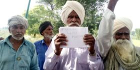 Navdanya Campaign in support of farmers victims of BT Cotton failure in Punjab