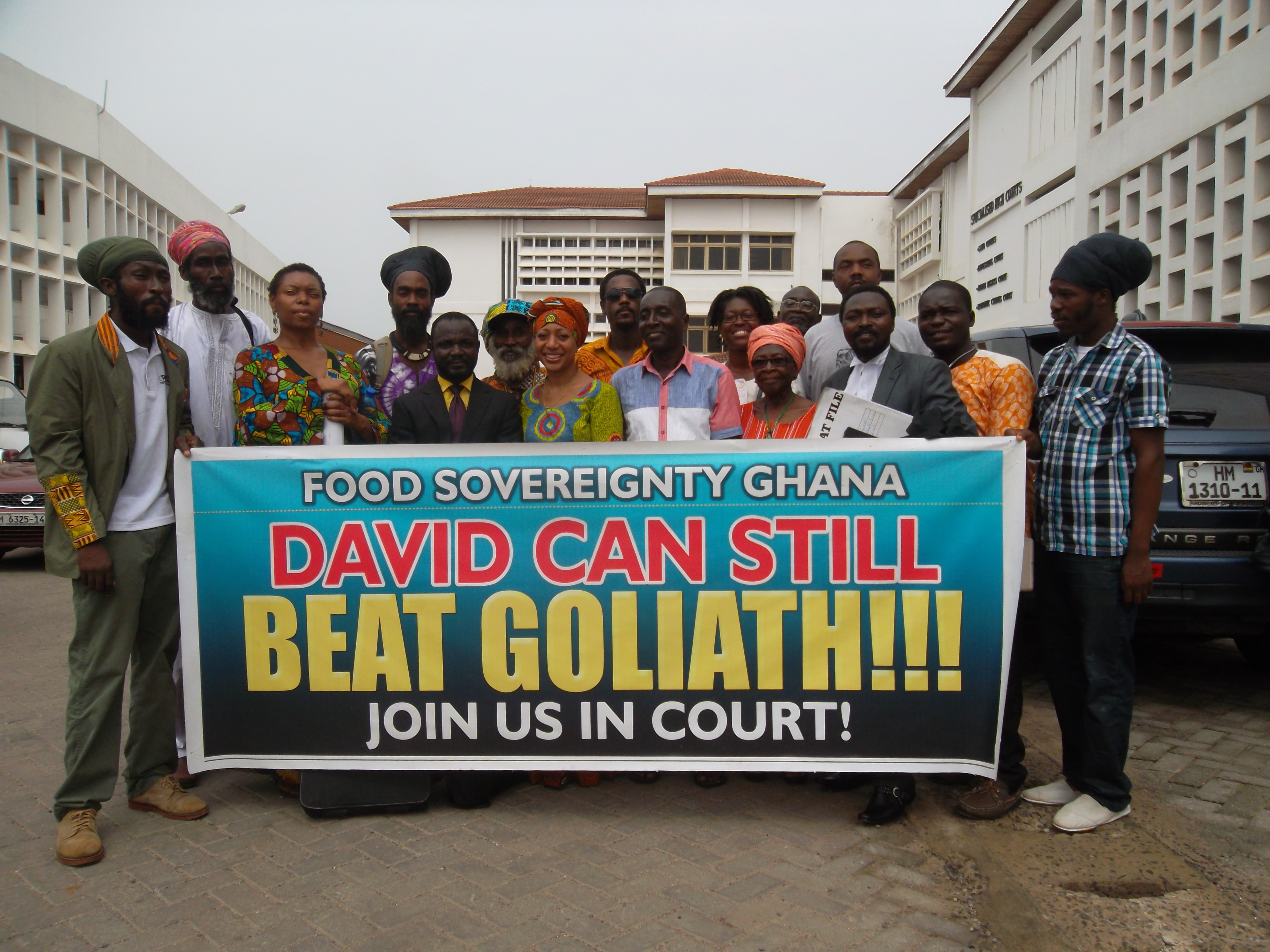 Food Sovereignty Ghana goes to Court ! Legal Action Against Commercialisation of GM Crops