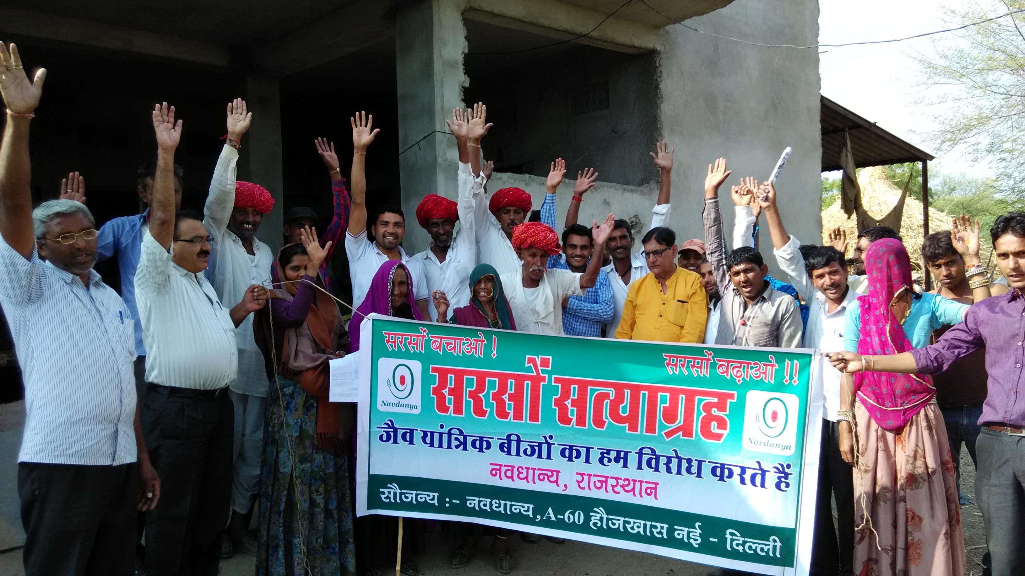Sarson Satyagraha Actions in Rajasthan