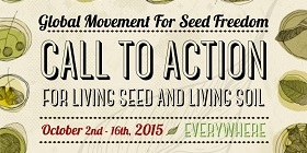 Call to Action for Living Seed and Living Soil 2015 – Overview