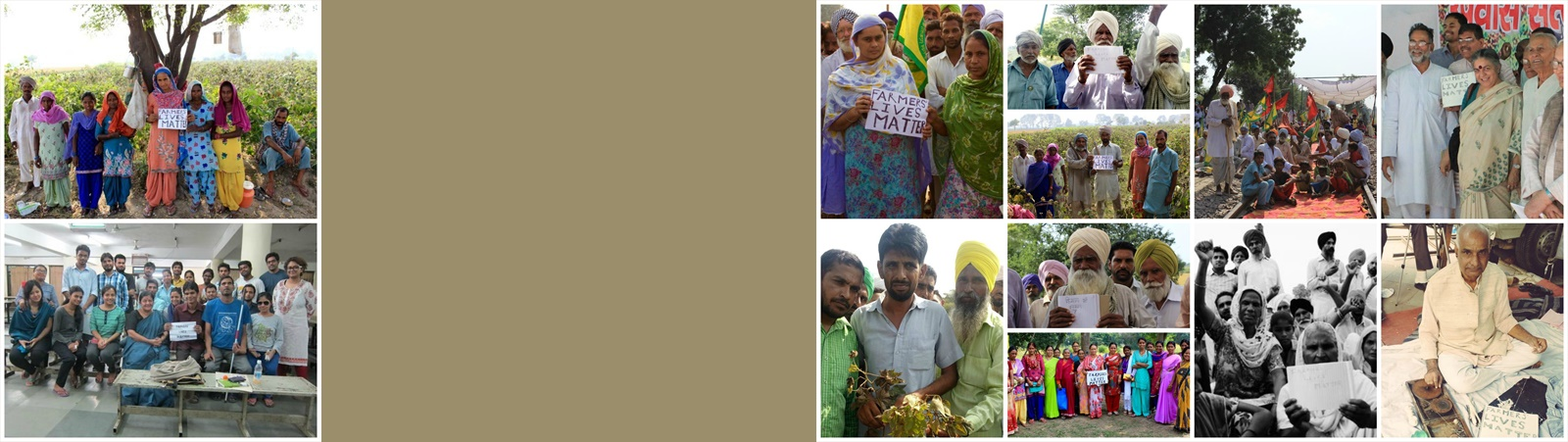 NAVDANYA CAMPAIGN IN SUPPORT OF FARMERS