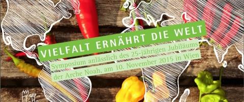 """Symposium """"Vielfalt ernährt die Welt"""" / """"Diversity feeds the world"""""""
