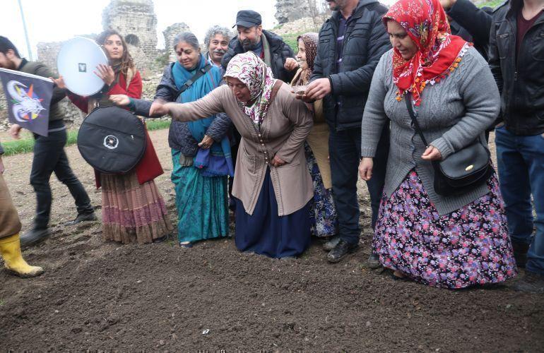 Yedikule Garden of Hope in Istanbul