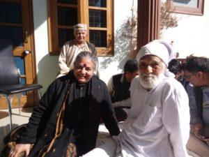 Bahuguna ji and Dr. Vandana Shiva