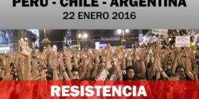 Anti-TPP protests in Argentina, Chile and Peru