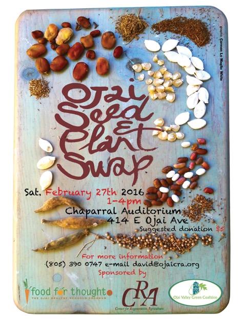 Ojai Seed & Plant Swap