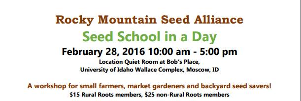 Seed School in a Day