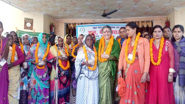 Pulse of Life Pilgrimage in Uttar Pradesh & Madhya Pradesh - Dal Swaraj Yatra