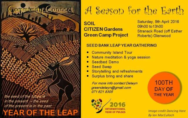 Seedbank Leap Year Gathering
