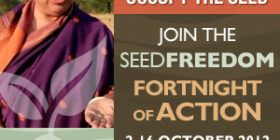 Global Movement for Seed Freedom and the Fortnight of Action – 2-16 October 2012