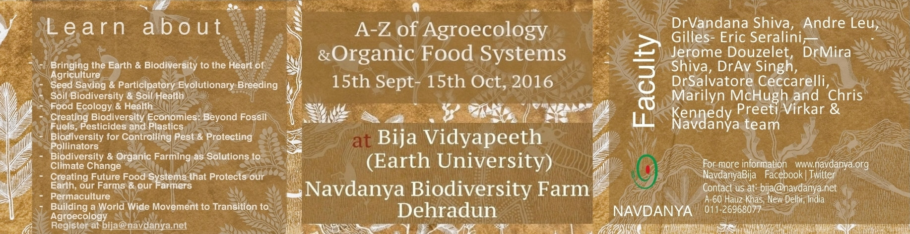 A-Z OF AGROECOLOGY