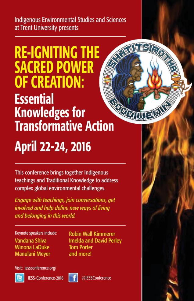 Re-Igniting The Sacred Power Of Creation: Knowledges for Transformative Action