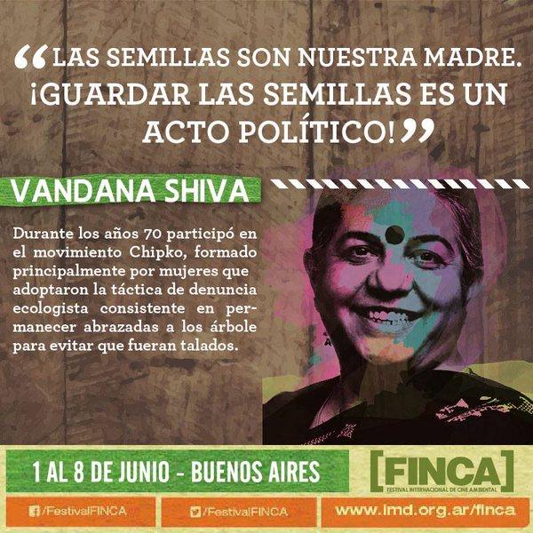 Navdanya en Argentina - 3er Festival Internacional de Cine Ambiental