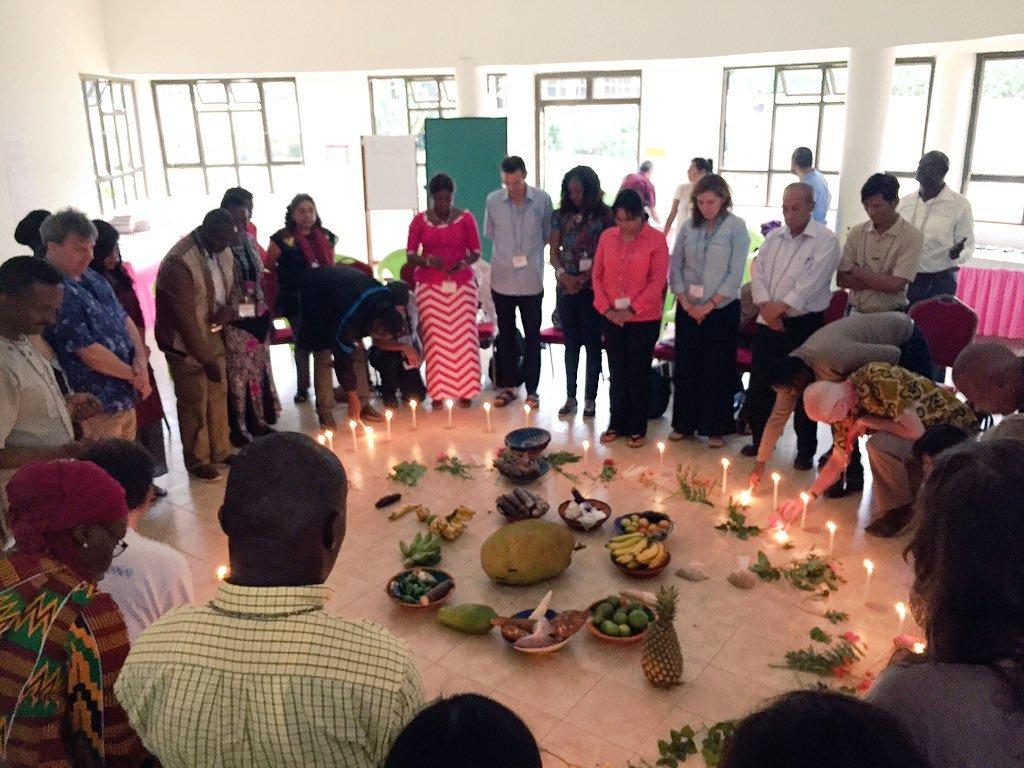 Navdanya at Agroecology Learning Experience - Uganda