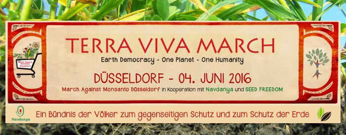 TERRA VIVA MARCH - MarchAgainstMonsanto DÜSSELDORF 2016