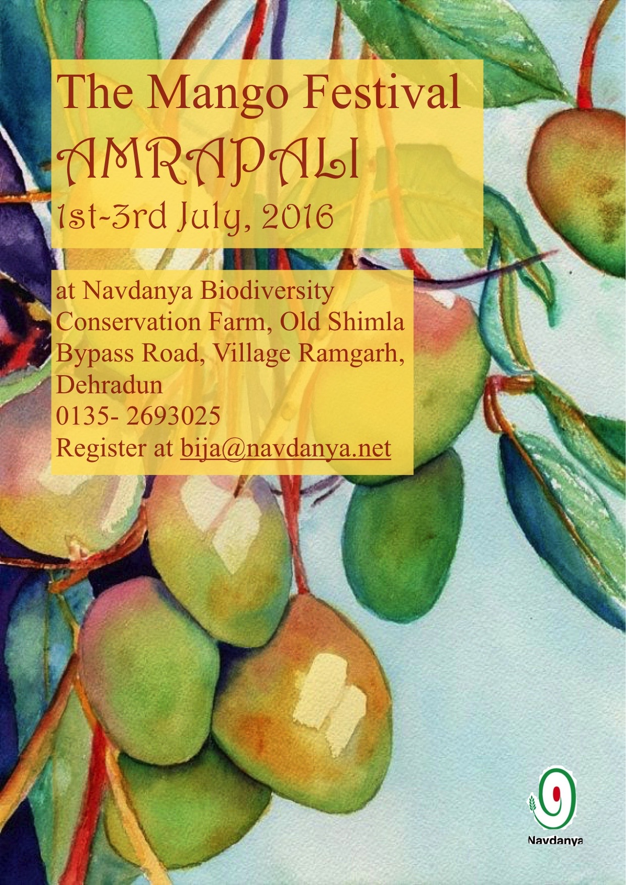 The Mango Festival - AMRAPALI